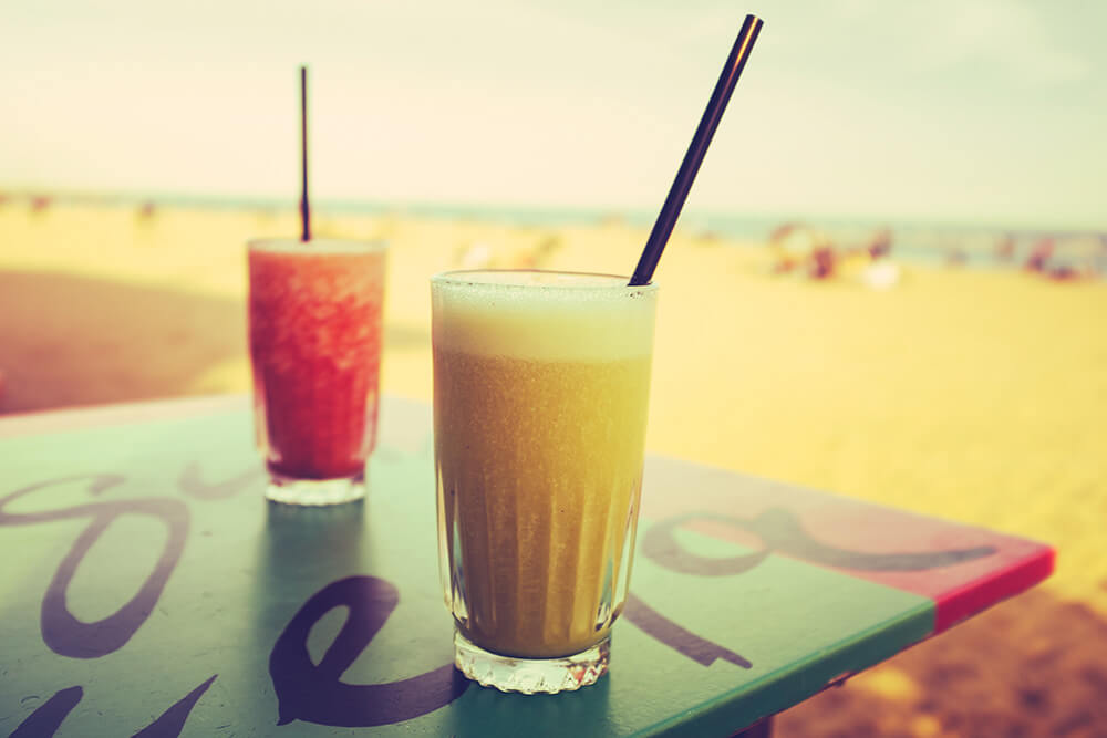 Softdrinks at the beach, instead of EU Regulations Horror